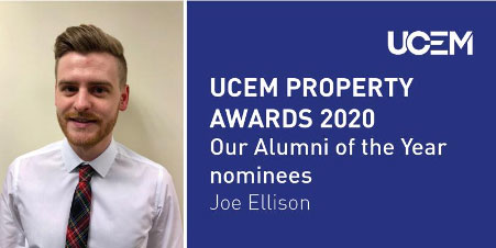Pinnacle Surveyors Employee Nominated for UCEM Property Awards 2020