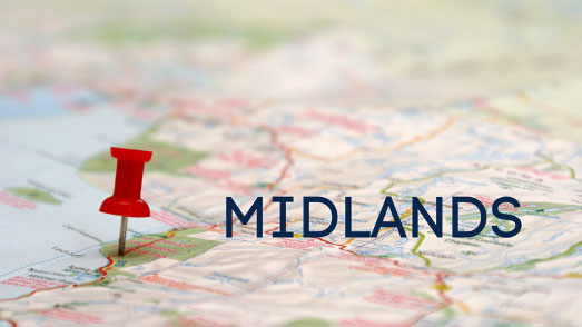 WHERE WE COVER – MIDLANDS (NORTH)
