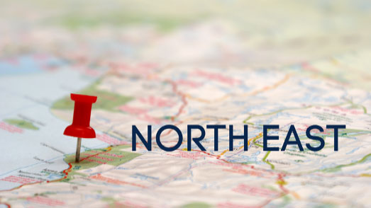 Where We Cover – North East Region