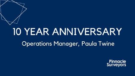 Paula Twine – 10 Year Anniversary